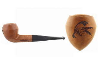 Pipe gravée iroquois