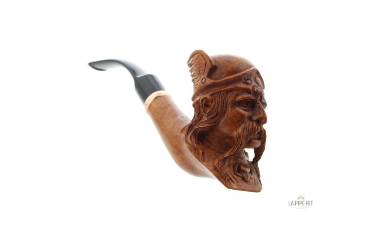 Pipe sculptée Vercingétorix