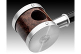 Pipe fait main Tsuge Blowfish argent 6089