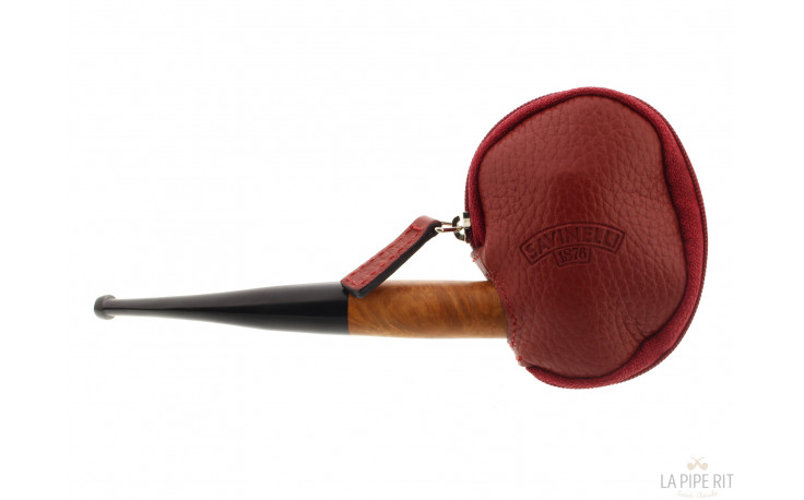 Protection pipe Savinelli rouge