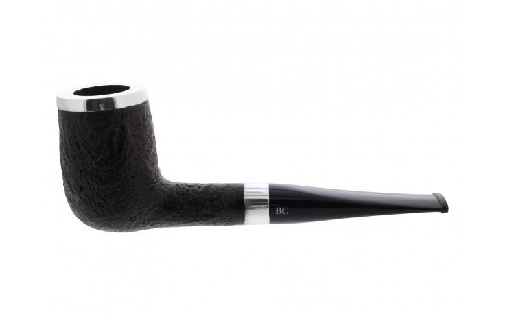 Pipe Butz Choquin Titanium sablé noir 1398