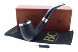 Pipe Butz Choquin Titanium sablé noir 1319