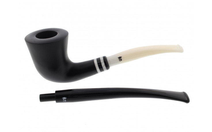 Pipe Stanwell Black & White 405