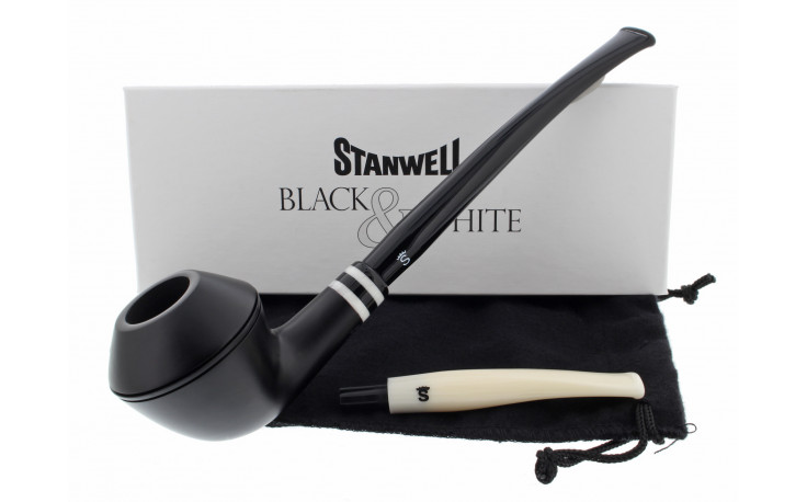 Pipe Stanwell Black & White 406