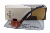 Pipe longue orange courbe