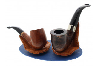 Pose pipe magnétique 2 pipes Claudio Albieri bleu/orange