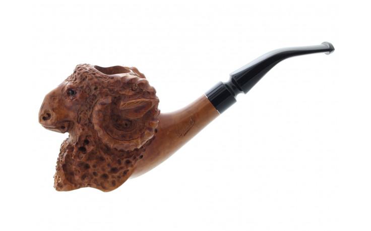Pipe sculptée Voltaire