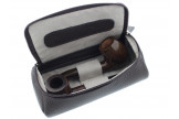 Housse Savinelli 2 pipes marron