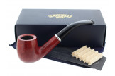 Pipe Savinelli Arcobaleno rouge 606