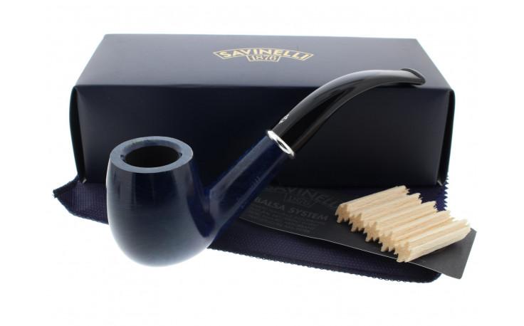 Pipe Savinelli Arcobaleno bleue 606