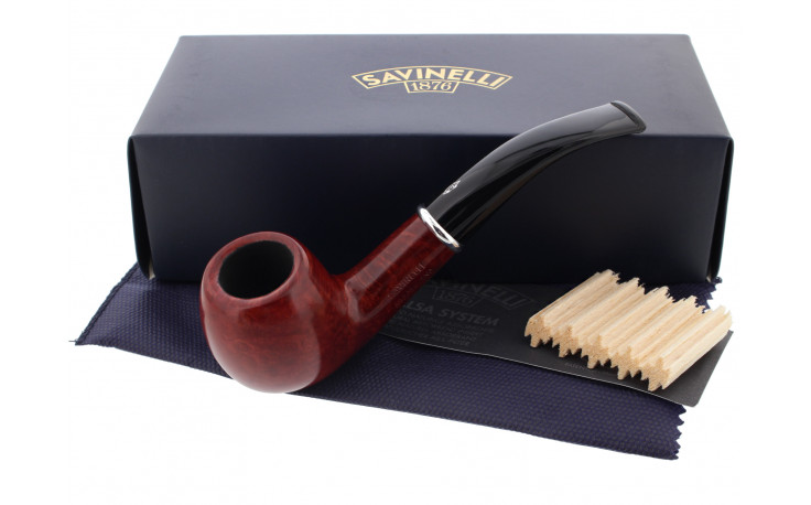 Pipe Savinelli Arcobaleno rouge 626