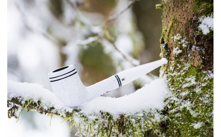 Pipe Butz-Choquin Chamonix 1604 blanche