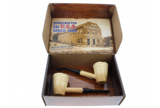 Coffret cadeau pipes Mark Twain