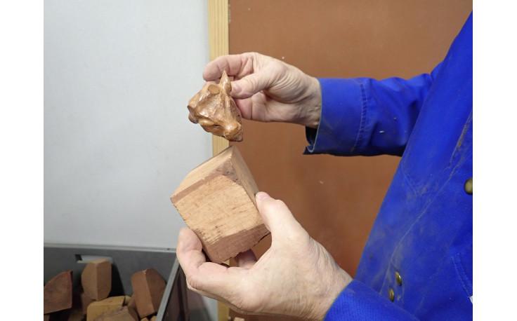 Pipe sculptée Taureau