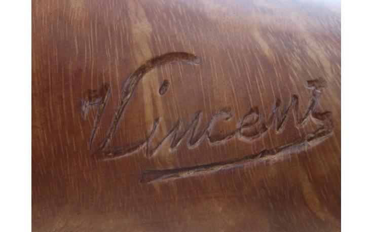 Pipe sculptée Taureau camarguais