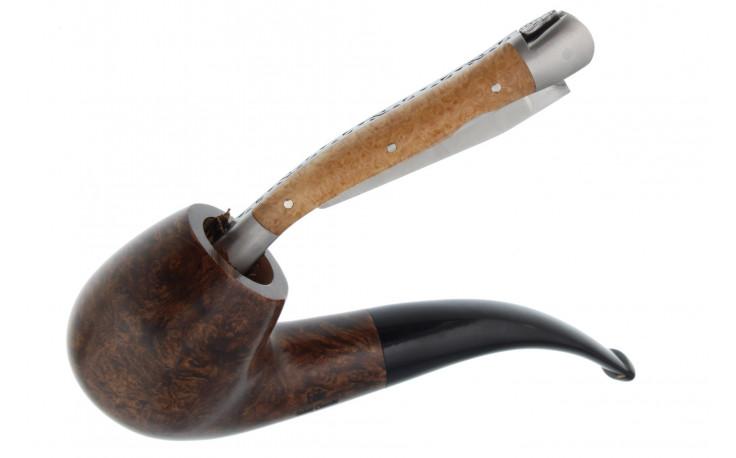 Bourre pipe Laguiole Bruyère