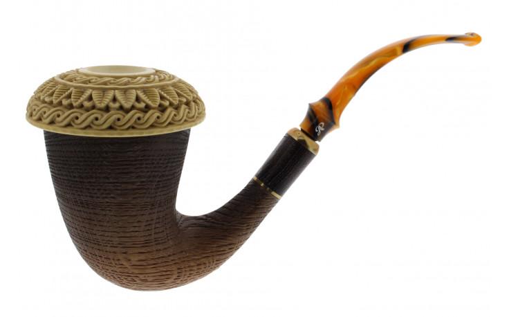 Pipe Calabash en courge d'Afrique et morta (1)