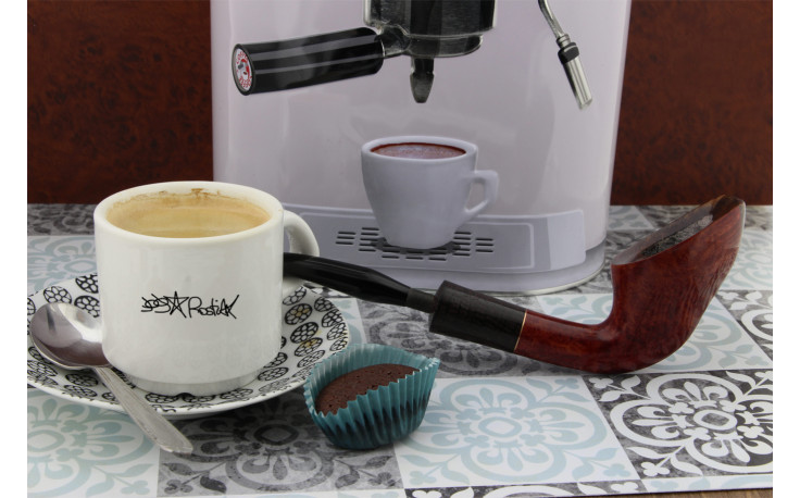 Pipe Rostiak Pause café cintrée 10