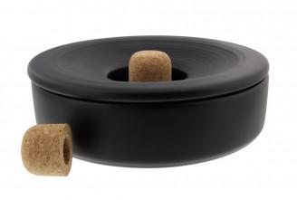 Cendrier à pipe Savinelli (noir)