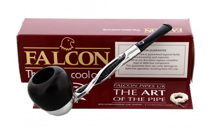 Pipe Falcon Torsade noire Apple droite