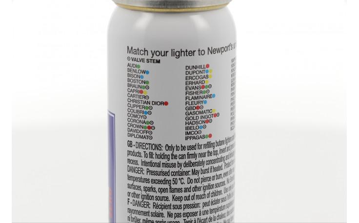 Recharge de gaz Newport (90 ml)