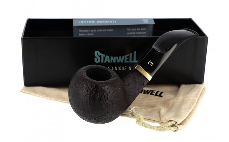 Pipe Stanwell De Luxe 15 (sablée, filtre 9 mm)