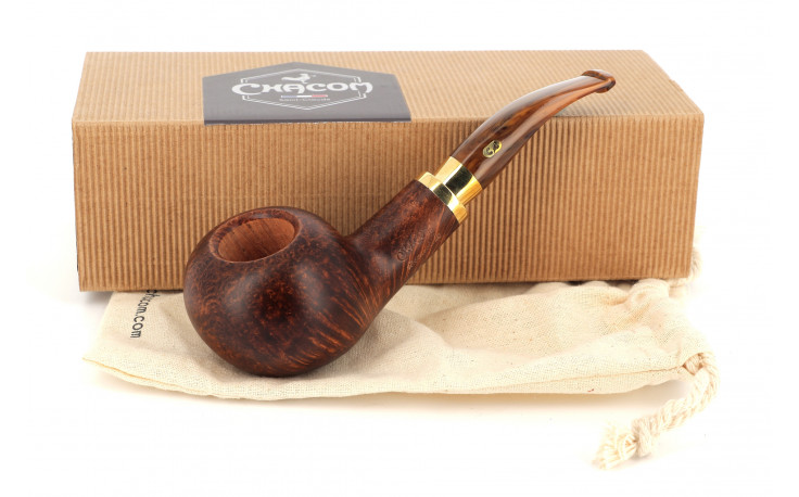 Pipe Chacom Deauville 872 (brune lisse)