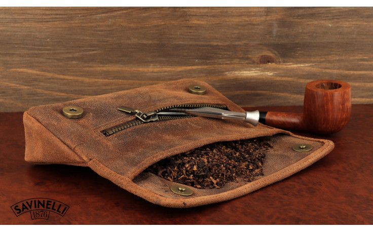 Blague à tabac Savinelli Vintage Cognac