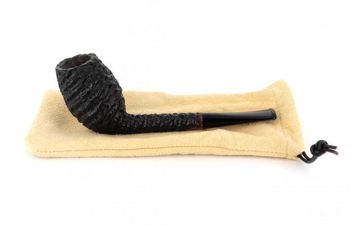 Pipe Tom Eltang Cutty 1 (noire rustiquée)