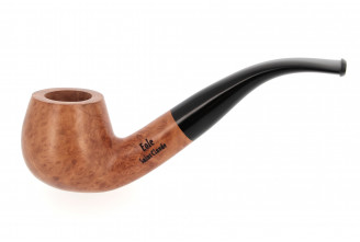Pipe Eole 9 mm boule courbe nature