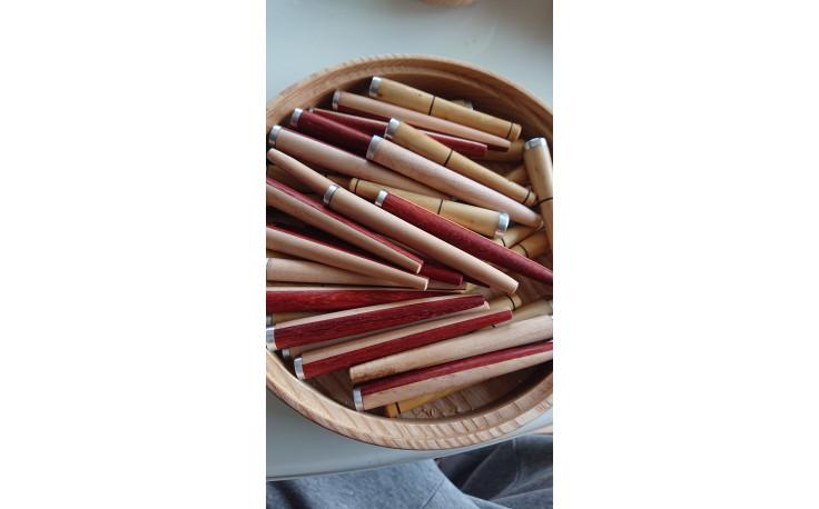 Bourre pipe artisanal (érable et padouk)