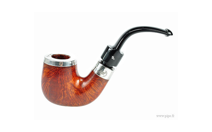 Pipe Peterson House silver courbe