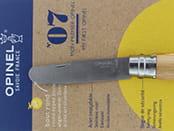 Opinel n°7 en guise d'alésoir pour la pipe