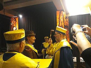 Confrérie des Maîtres Pipiers avec Antoine de Caunes