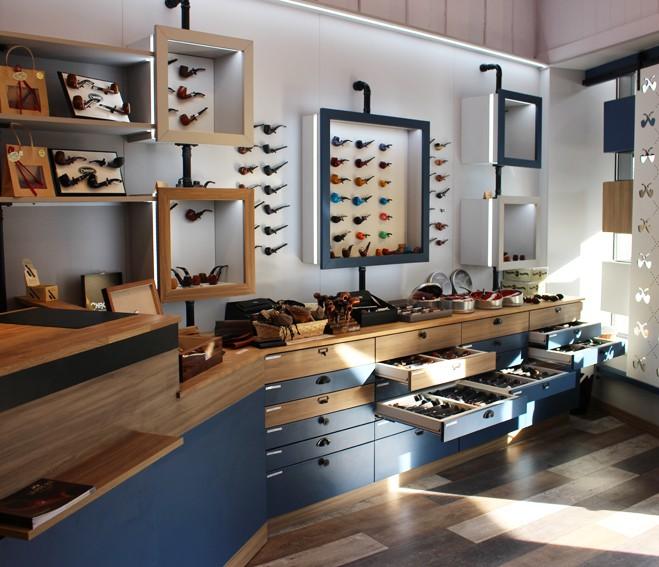 La boutique La Pipe Rit à Saint-Claude