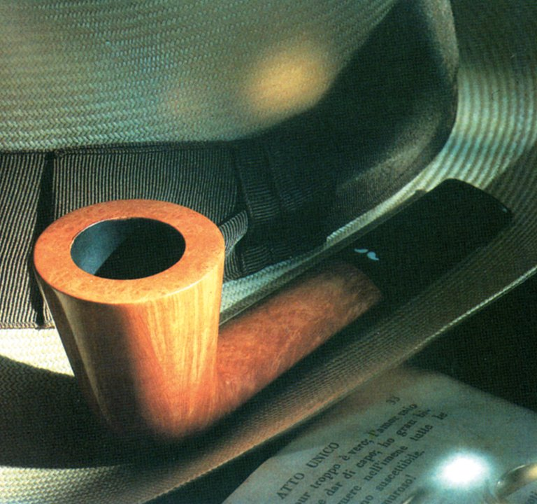 La pipe Caminetto (Italie)