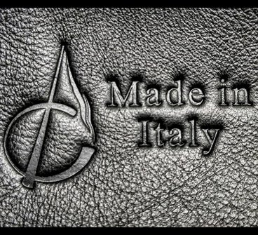 Produits en cuir 'Made in Italy'