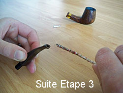 Cleaning your pipe step 4