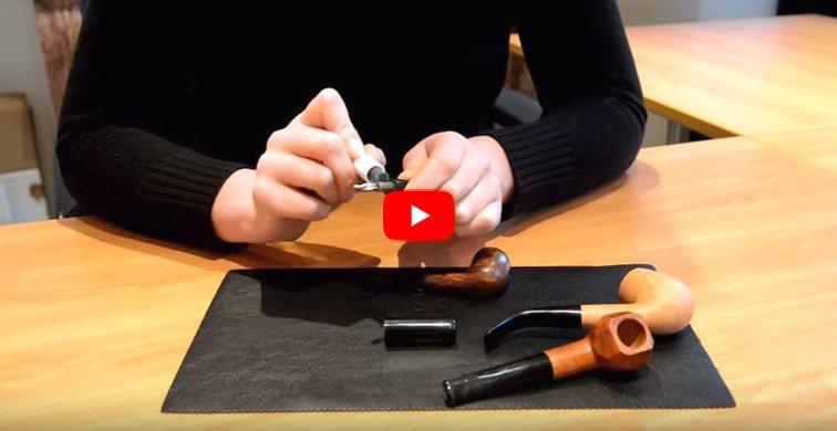 Vidéo Youtube : le stick Vauen pour tuyau de pipe