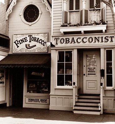 Magasin de tabac à Disneyland
