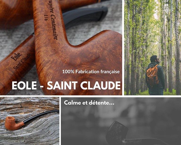 Eole, pipes artisanales de Saint Claude