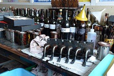 Atelier badigeonnage chez Butz-Choquin
