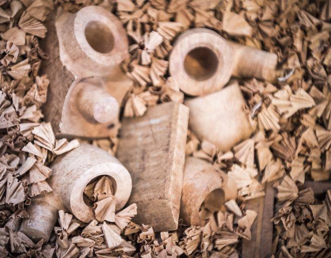 Les étapes de fabrication d'une pipe en bruyère