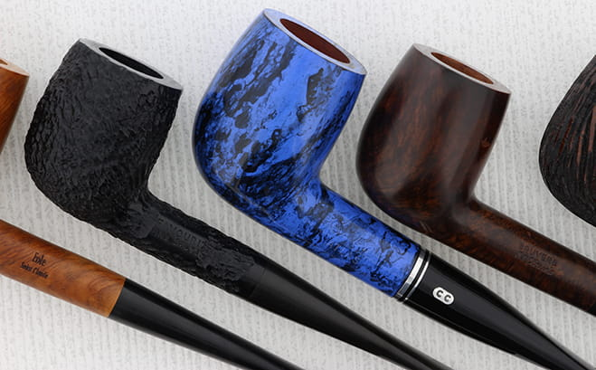 Les différentes finitions d'une pipe en bruyère