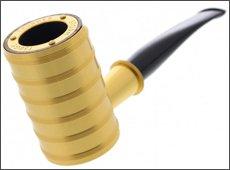 Pipe Tsuge Thunderstorm 6080 dorée