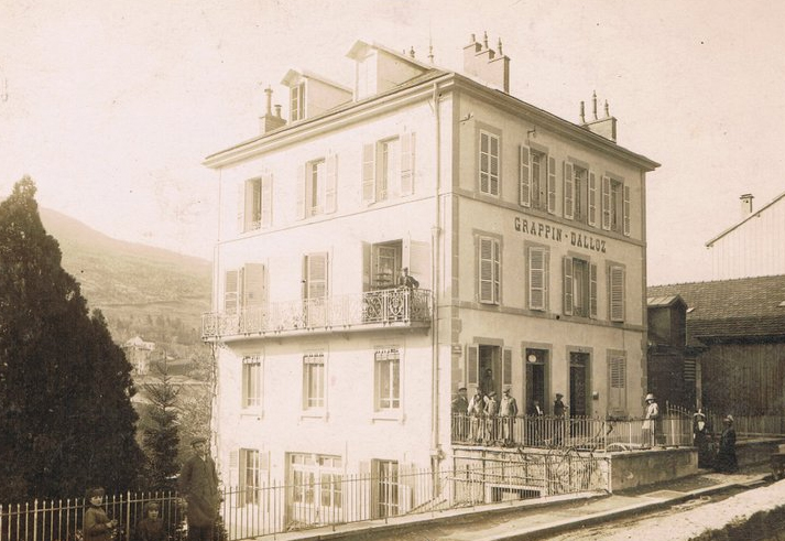 Fabrique Rue Lacuzon