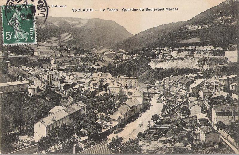 Saint Claude dans les années 1840