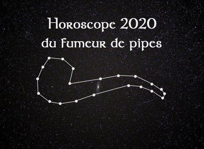 Horoscope 2020, voyance et fumeur de pipes