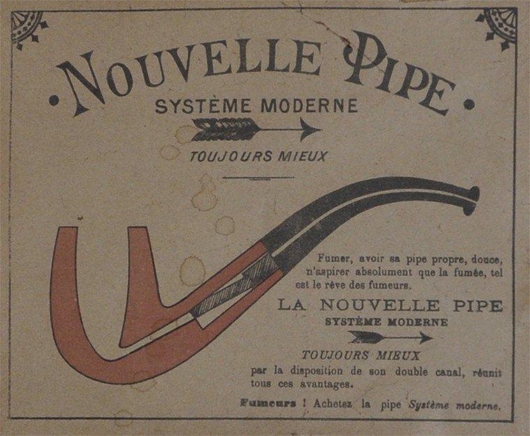 La pipe moderne
