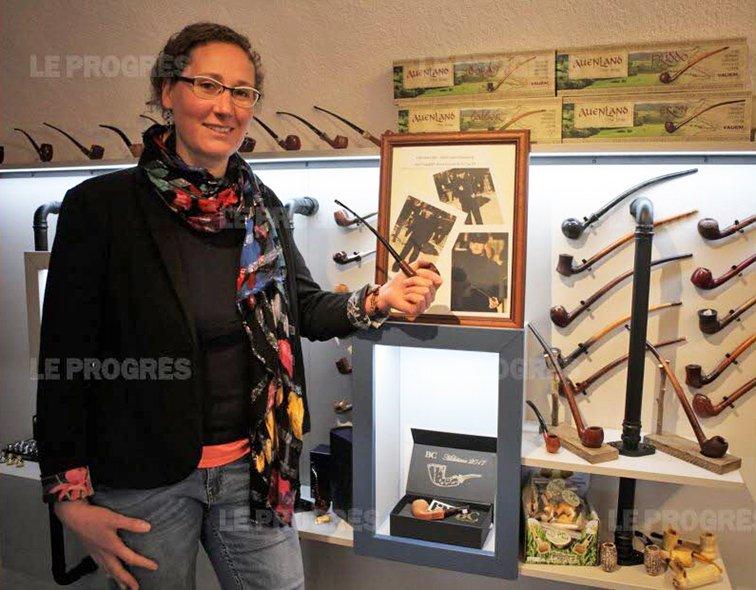 Claire MERMET, gérante de la boutique